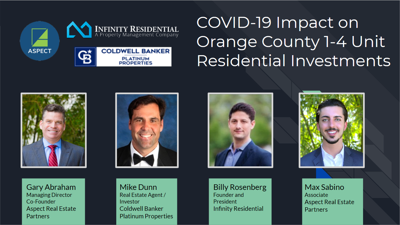 COVID 19 Impact on 1-4 Unit Multifamily Properties